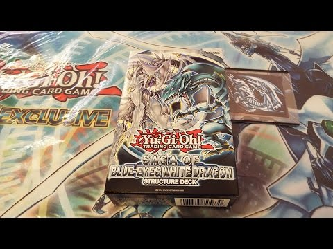 Yu-Gi-Oh! Structure Deck - Saga of Blue Eyes White Dragon (Unlimited)