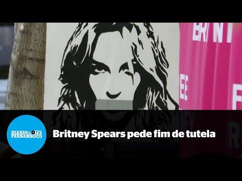 Britney Spears pede fim de tutela paternal