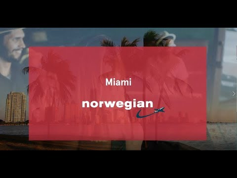 Discover Miami with Norwegian (NO)