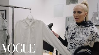 RHOBH's Erika Jayne Works 24 Hours at Vogue