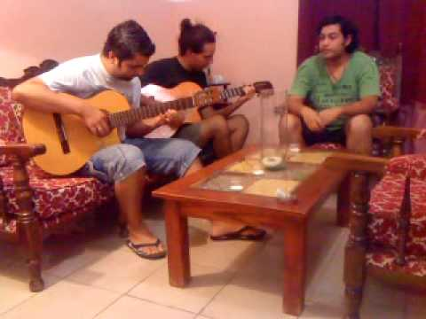 Me muero lejos de ti (cover con Cristian y Esteban)
