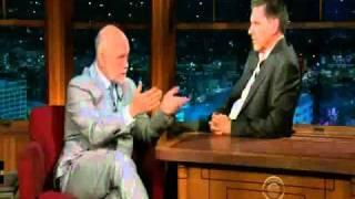John Malkovich on The LLS with Craig Ferguson 10/11/10 (part 1)