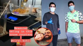 Anushka SHARES a glimpse of Kohli's 'measured-eating' habi..