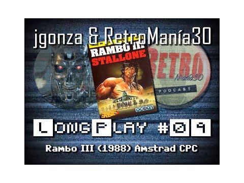 Rambo III - Amstrad CPC Longplay