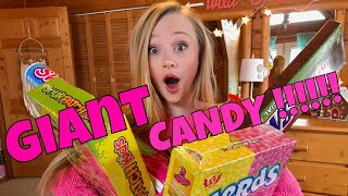 Giant Candy Haul Challenge with Princess Ella