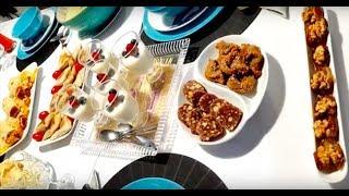 Idée de menu varié pour ramadan entrée plat et dessert