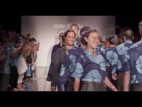Hawaiian Airlines has unveiled new uniforms for more than 5,000 front-line employees including Airport Customer Service, In-Flight, and Maintenance. The new designs are a collaboration among Affinity Apparel, renowned Hilo-based design firm Sig Zane Kaiao, and a committee of 40 front-line Hawaiian employees representing a variety of job functions.