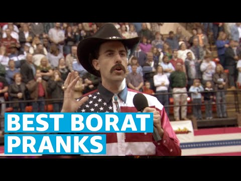 Funniest Pranks From Borat | Prime Video