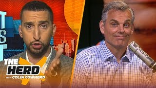 Westbrook not a highly effective player & Lillard was 'unbelievable' — Nick Wright | NBA | THE HERD