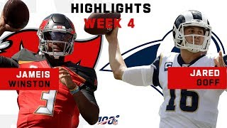 Winston & Goff Throw for Over 900 Yds & 6 TDs! | NFL 2019 Highlights