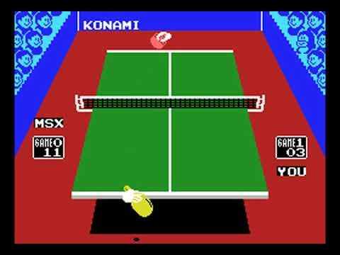 Konami's Ping Pong (Konami, Friends Software) (MS-DOS) [1996]