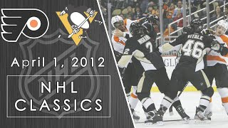 NHL Classics: Fists fly in epic game between Flyers and Penguins | 04/01/2012 | NBC Sports