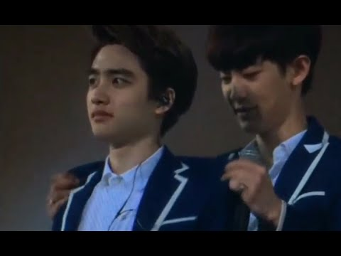 [Fancam] 140719 EXO D.O. Funny Moments at The Lost Planet in Shanghai Day 2