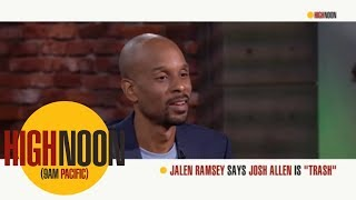 Bomani Jones and Pablo Torre both agree with Jalen Ramsey's take on NFL QB's | High Noon| ESPN
