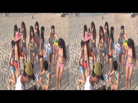 20130719 夢幻party舞團在沙灘 嘉義東石海之夏祭 嘉義縣東石漁人碼頭 3D Ver.