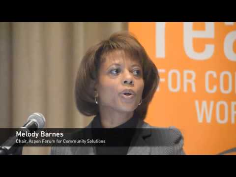Melody Barnes explains why and how the Obama administration ...