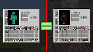 Minecraft but BadBoyHalo and I's Inventories are Linked