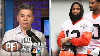 PFT Overtime: OBJ's impact on Browns, Ezekiel Elliot's holdout | Pro Football Talk | NBC Sports