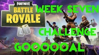 Fortnite Battle Royale | Season 4 Week 7 Challenge | Soccer Pitches Location Guide