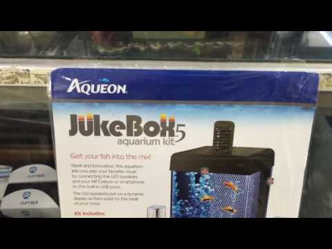 Aqueon JukeBox 5 Aquarium