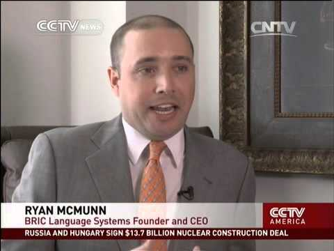 BRIC Language Systems Highlighted on CCTV News on 01/15/2014