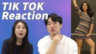 Indian Tik Tok Reaction by Koreans   Tik Tok India  