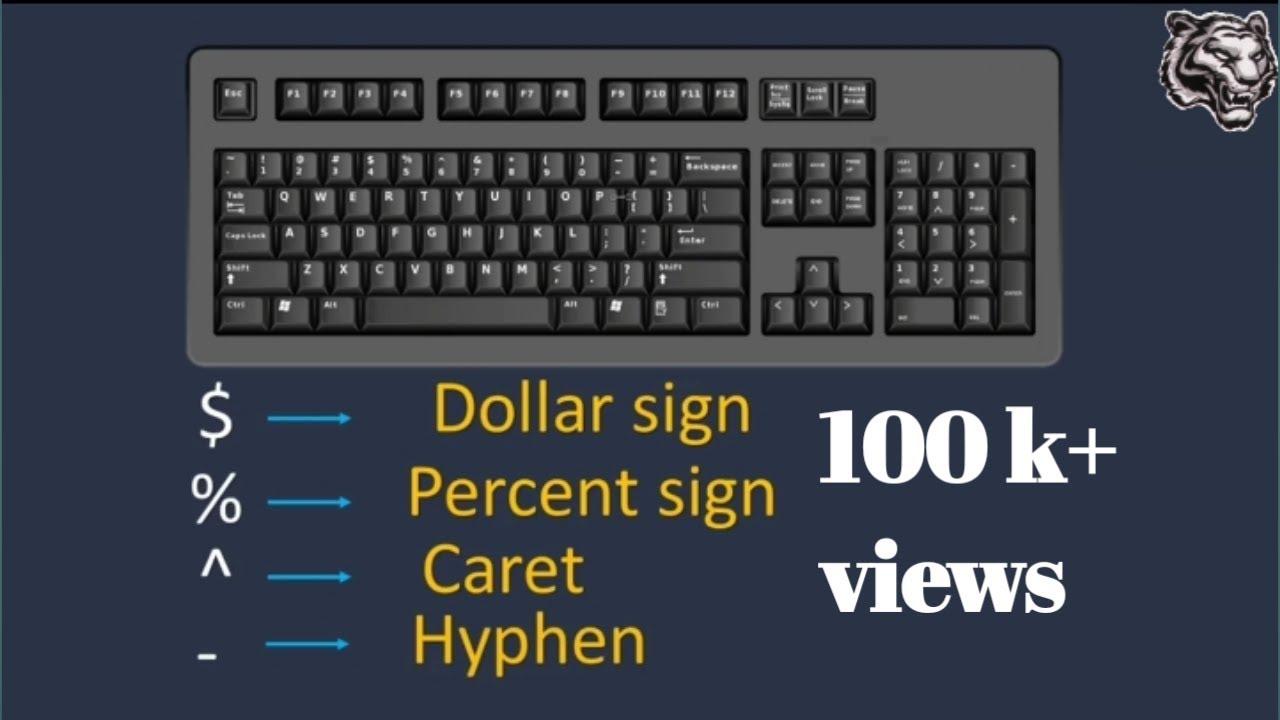 K39 Keyboard Symbols