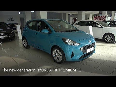The new generation HYUNDAI i10 PREMIUM 1 2