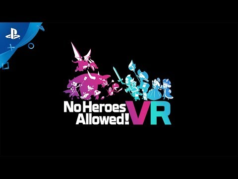 No Heroes Allowed! VR Trailer