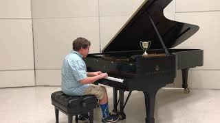 Zachary's spring piano concert - YouTube