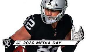 First Look: Cory Littleton, Nick Kwiatkoski & Jason Witten in the Silver and Black | Raiders