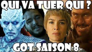 Game of Thrones saison 8 : QUI VA TUER QUI ?