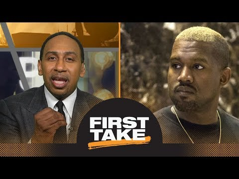 Stephen A. Smith strongly reacts to Kanye West's slavery comments on TMZ | First Take | ESPN