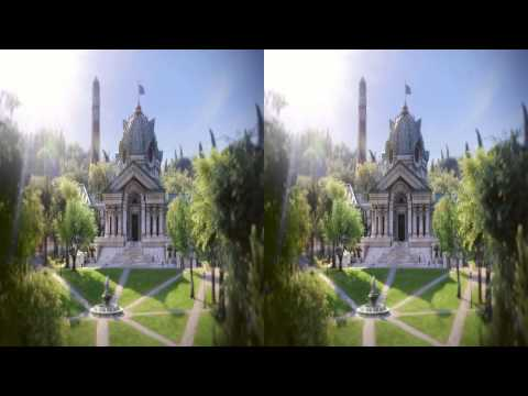 Monsters University 2013 Trailer - 3D Side by SIde