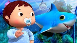 Baby Shark Dance | Baby Shark Challenge | Little Baby Bum | Nursery Rhymes | Baby Songs