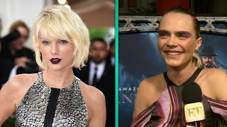 Watch Cara Delevingne's EPIC Reaction to Taylor Swift's Re-Recording Announcement (Exclusive)