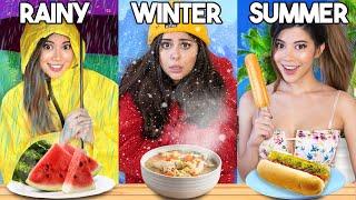 Guess the Season FOOD CHALLENGE (very hard) @AzzyLand