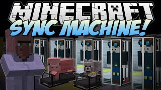 Minecraft | SYNC MACHINE! (Piggy Treadmills & Clones!) | Mod Showcase