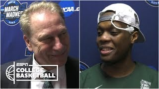 Tom Izzo, Cassius Winston on beating Duke, making Final Four   College Basketball Sound