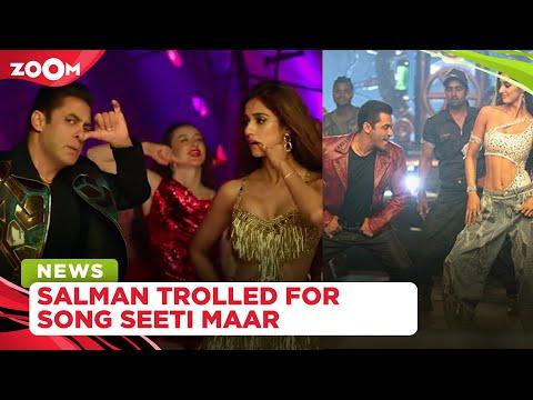 Salman Khan brutally trolled for not matching with Allu Arjun's dance in Seeti Maar from Radhe