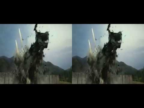 Transformers: Age of Extinction Super Bowl Trailer in 3D