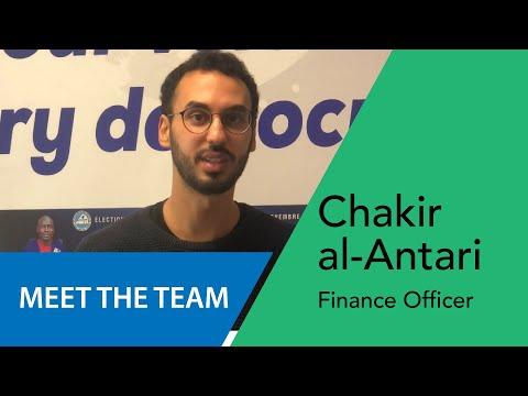 Chakir al Antari - Finance Officer