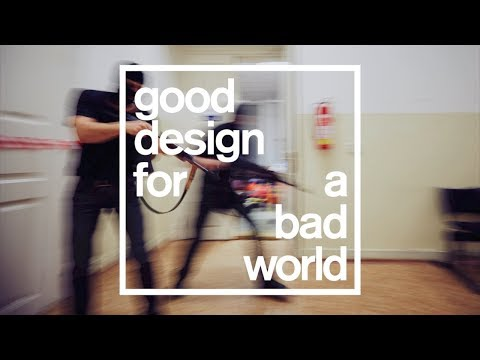 Highlights of Dezeen's terrorism talk for Good Design for a Bad World