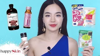 💊11 thực phẩm chức năng COLLAGEN UỐNG đình đám này có thực sự TỐT? | Collagen Review⁉️| Happy Skin