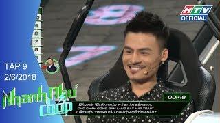 HTV NHANH NHƯ CHỚP | Vũ Hà, Hoa Vinh, Trương Nhi, Nhung Gumiho, Kay Trần | NNC #9 FULL | 2/6/2018