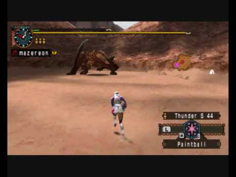 MHP2G MHFU Monster Hunter Quest Completed With High Rank Gear