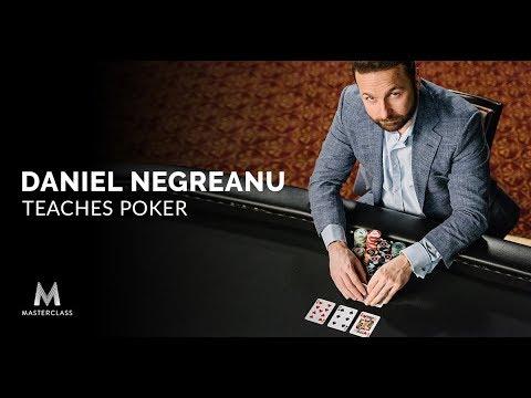 Winningest Tournament Poker Player of All Time Daniel Negreanu Joins MasterClass to Teach Poker