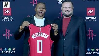 Russell Westbrook Full Introduction - Houston Rockets Press Conference | July 26, 2019