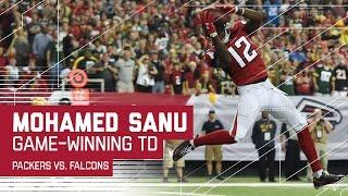 Matt Ryan's Game-Winning TD Pass to Mohamed Sanu! | Packers vs. Falcons | NFL