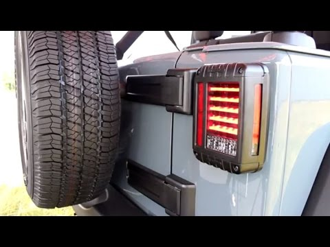 Model 279 J Series - Jeep LED Tail Lights & Installation